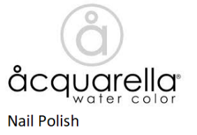 Acquarella Nail polishes and accessories