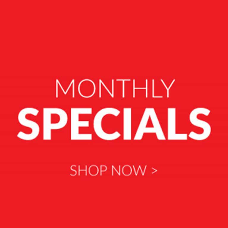 Monthly Specials & New Products